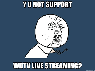 Y U NOT SUPPORT?